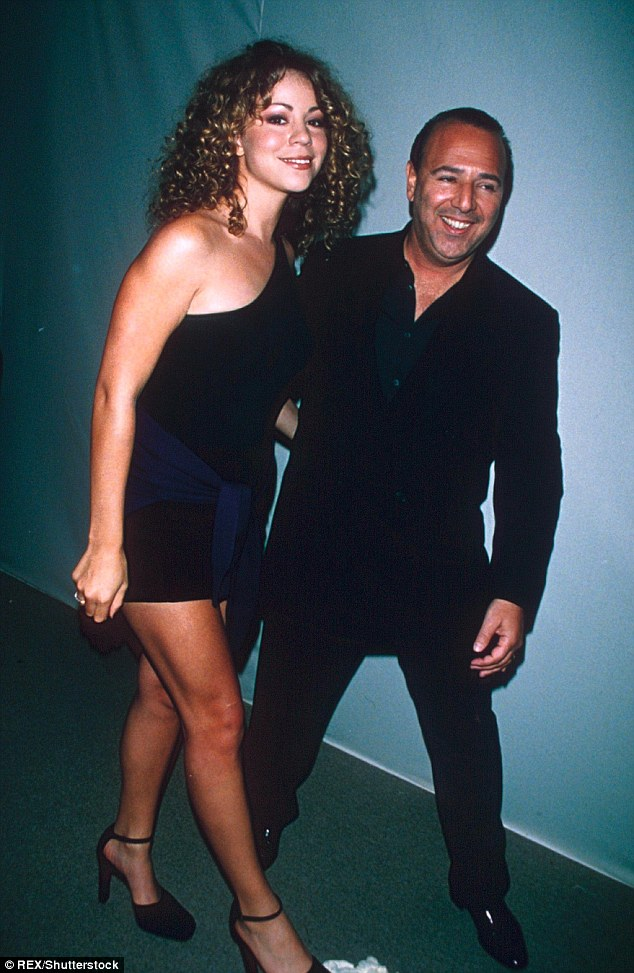 Third time's not a charm: Carey's wedding to Packer would have marked her third marriage, but it was not meant to be. Here, the singer is seen in this 1996 shot with ex Tommy Mottola