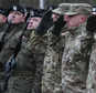 U.S. Army soldiers are welcomed in Zagan, Poland, Thursday, Jan. 12, 2017. First U.S. troops arrived at the Zagan base in western Poland as part of deterrence force of some 1,000 troops to be based here and reassure Poland that is worried about Russia's activity.(AP Photo/Czarek Sokolowski)