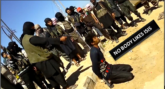 ISIS is neither a friend to Obama nor Putin—or the rest of the superpowers at that.