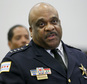 FILE - In this Sept. 21, 2016, file photo, Chicago Police Superintendent Eddie Johnson speaks during a news conference in Chicago. The Department of Justice is poised to release its report detailing the extent of civil rights violations committed by the Chicago Police Department. The next stage after the Friday Jan. 13, 2017 release will be negotiations between the DOJ and the city. (AP Photo/Tae-Gyun Kim, File)
