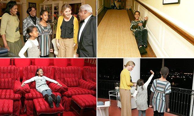 Jenna Bush Hager shares rare images of a young Sasha and Malia Obama
