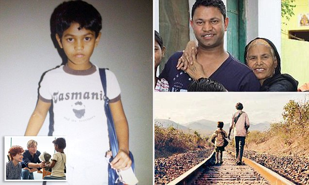 SAROO BRIERLEY used Google Earth to track down his family 6,000 miles away