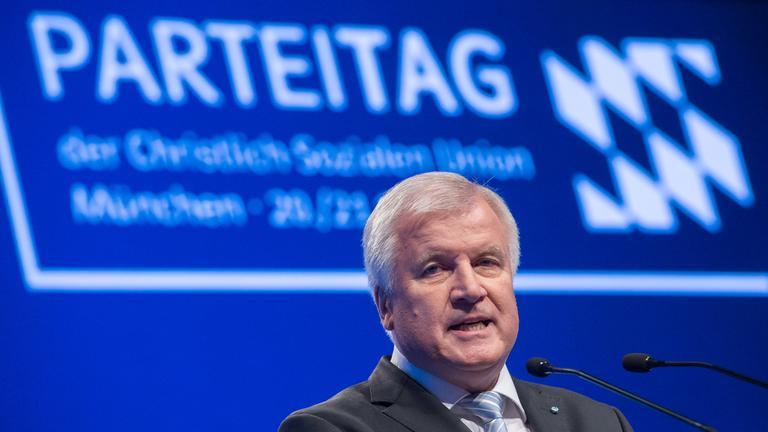 Horst Seehofer beim CSU-Parteitag.