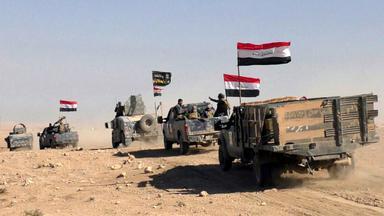 Truppen kämpfen um IS-Hochburg Mossul