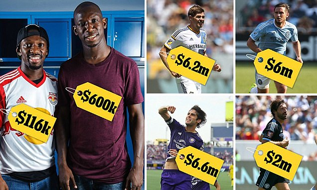 MLS player salaries revealed: Kaka is the division's highest earner, but why does Bradley