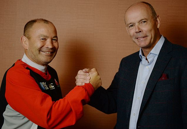 Japan coach Eddie Jones tells Sir Clive Woodward how his side have shocked the Rugby World