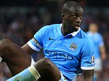 19th September 2015 - Barclays Premier League - Manchester City v West Ham United - Yaya Toure of Man City looks dejected - Photo: Simon Stacpoole / Offside.