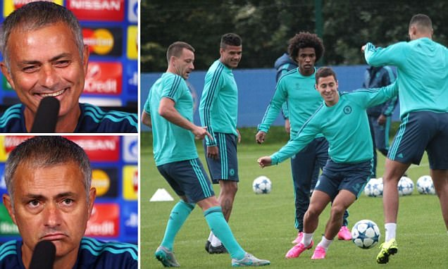 Jose Mourinho set to axe star names for Champions League opener and despite results,