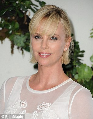 Stars including Charlize Theron are also supporting the Poverty Is Sexist Initiative