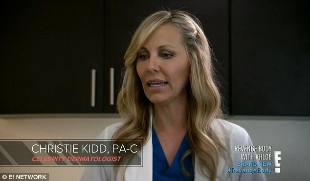 Skin specialist: Khloe sent Stephanie to see celebrity dermatologist Christie Kidd