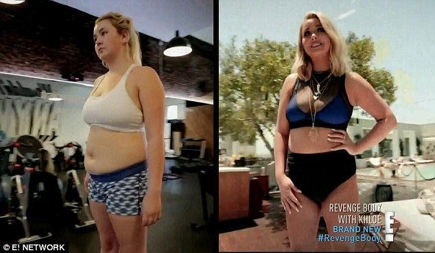 Sweet revenge: Stephanie Perez dropped 27 pounds and reached her bikini goal