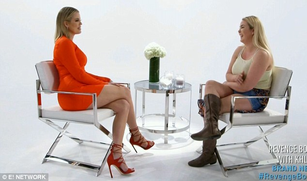 One one one: Khloe met face to face with Stephanie to learn about her goals and motivation