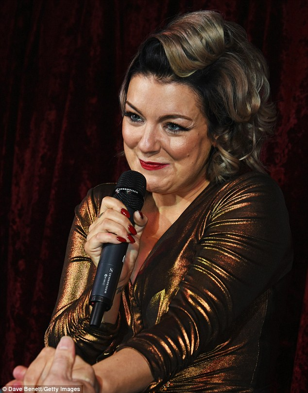 She's a Funny Girl! Sheridan is back after taking temporary leave from her popular West End role last year
