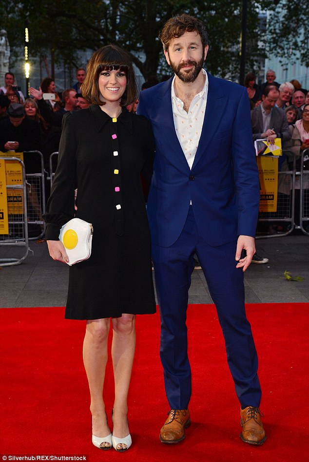 Expecting: Baby no2 is on the way for Dawn O'Porter and husband Chris O'Dowd (here together in October 2015)