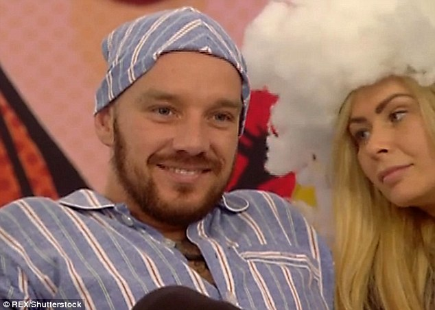 Cheeky: CBB Lothario Jamie O'Hara raised eyebrows by bragging about his wild bedroom antics on Wednesday night's episode of the Channel 5 show