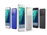The Pixel smartphones. Its Pixel smartphones stole the show the 5in model and the 5.5in XL are available for pre-order now at £599 and £719 respectively. All brushed aluminium and polished glass, Google?s gone right for the iPhone?s jugular with a 12.3MP camera that?s rated independently as the best ever on a mobile. More alluringly, you will never run out of storage space because Pixel phones get an unlimited subscription to the Google Photos cloud service.