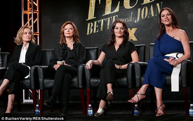 Leading ladies: from left, Jessica Lange, Susan Sarandon, Alison Wright and Catherine