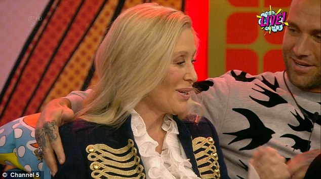 First out: Angie Best became the first housemate to be evicted from the CBB House on Friday