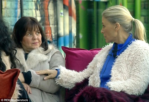 Smoking: Coleen joked she was going to 'smash' Angie's face in after her smoking lecture