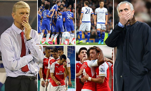 Chelsea's horror start and Arsenal's setback in Europe means the London derby is a