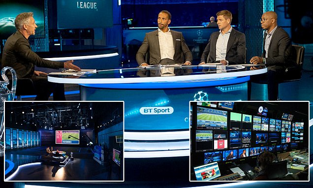 BT Sport's coverage of the Champions League is revolutionary and will get bigger and