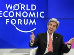 John Kerry made his last visit to the World Economic Forum in Davos as Washington's top diplomat, just three days before Donald Trump is to take office ©Fabrice Coffrini (AFP)