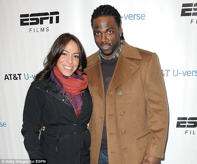 Spoiled celebration: Stallworth and Guerrero, seen here attending party in January, took the ride to celebrate the woman's 27th birthday