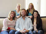 """FILE - In this July 10, 2013, file photo, Kody Brown poses with his wives at one of their homes in Las Vegas. The Supreme Court said Monday, Jan 24, 2017, it won't hear an appeal from the family on TV's """"Sister Wives"""" challenging Utah's law banning polygamy. The decision ends the family's long legal fight to overturn a seldom used and unique provision of Utah's law that the Browns and other polygamous families contend has a chilling effect by sending law-abiding plural families into hiding because of fear of prosecution. (Jerry Henkel/Las Vegas Review-Journal, via AP, File)"""