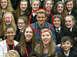 Actor Orlando Bloom meets pupils whilst attending the Laurus Trust launch held at Cheadle Hulme High School, Cheadle Hulme, Cheadle. The Trust has co-created its own Curriculum with Patsy Rodenburg, and two of her former pupils - Orlando Bloom and Paapa Essiedu - who are helping run workshops along with the Royal Shakespeare Company - showcasing the ethos and type of work that will be embedded in Laurus Trust schools. PRESS ASSOCIATION Photo. Picture date: Friday 27th January, 2017. Photo credit should read: Dave Thompson/PA Wire.
