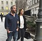 """Joseph Meli leaves Manhattan federal court Friday, Jan. 27, 2017 in New York, after he was freed on $1 million bail in a Ponzi scheme case. Prosecutors say he conspired to misappropriate tens of millions of dollars after raising $81 million from wealthy people who thought they were investing in ticket businesses for popular shows like an Adele concert and Broadway's """"Hamilton."""" (AP Photo/Larry Neumeister)"""