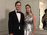 While protesters gathered at airports around the country and decried the president's Muslim ban, First Daughter Ivanka Trump was shared a 'tone deaf' photo of her and her husband