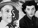 Roy Bryant, left, who brutally murdered 14-year-old Emmett Till, is pictured with his wife Carolyn, right, who accused Till of whistling at her in Mississippi in 1955