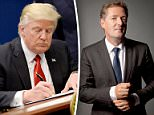 Whichever way President Trump (pictured signing an order on Friday) tries to justify his executive order on banning immigrants and refugees from seven war-ravaged countries, it makes no sense