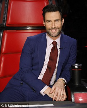 The leading men: Adam Levine and Blake Shelton will return to their rotating chairs
