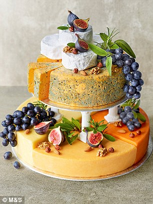 Cheese Celebration Cake, £155.00