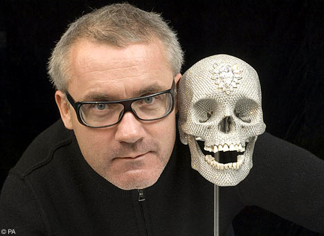 Hirst and skull