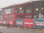 Australian hardware giant Bunnings has opened its first-ever store in the UK in St Albans, Hertfordshire (pictured). It is taking the place of the Homebase store