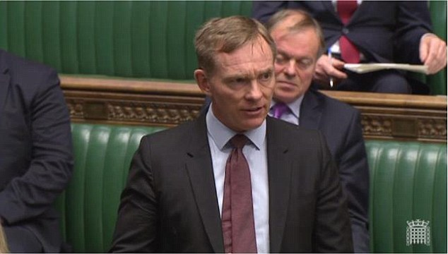 Labour MP Chris Bryant (left) today admitted he would vote against the wishes of his Rhondda constituents - who heavily backed Brexit