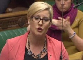 SNP MP Hannah Bardell borrowed from Trainspotting in today's Brexit debate