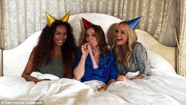 'We can't wait to meet little Monty Horner' Mel admitted she sees fellow North Londoners Geri and Emma the most- and all the children have met