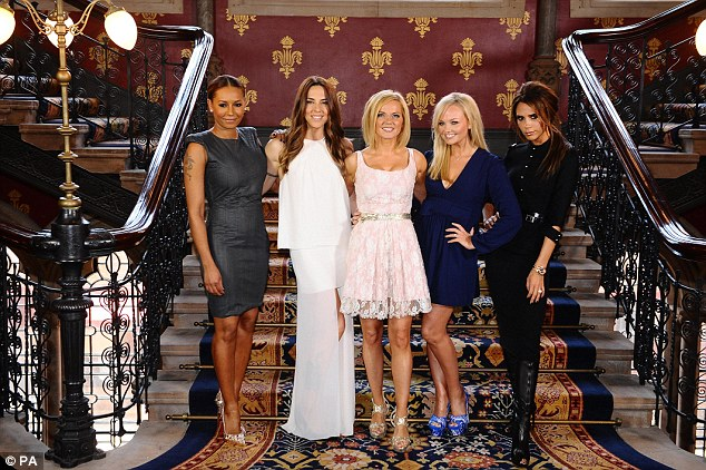 'You never know- I'd never close the door on the opportunity in future,' she said of a potential Spice Girls reunion