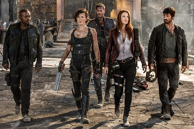 Deal with it: The franchise has charted her journey through the horror: from surviving the zombie plague to dying, being cloned repeatedly, and gifted with super powers