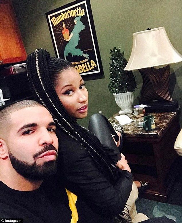 And then there is this: Minaj has been hanging out with Drake again since her split from Meek Mill last year
