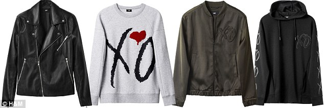 So many choices: H&M will sell amazing jackets, hoodies and coats to stay comfortable