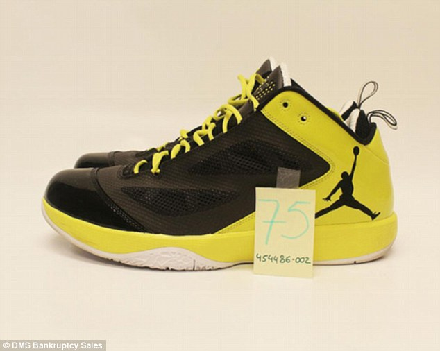 Classic: Some of the classic basketball shoes have been worn