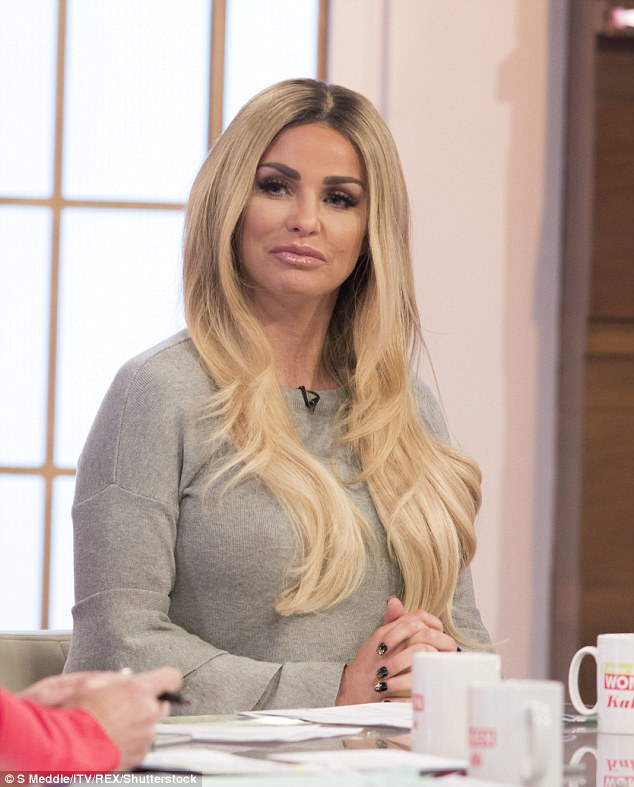 Loose Women co-star: Taking to Twitter, Katie Price led the social media celebrations, congratulating the 51-year-old CBB winner on her triumph