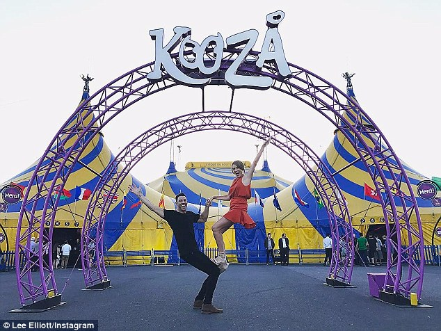 What split rumours? The couple recently enjoyed a romantic date nightat the KOOZA by Cirque du Soleil show
