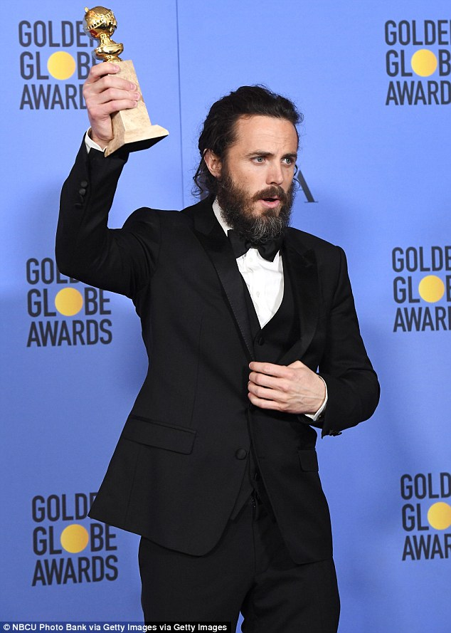 It's Hollywood gold! The drama has already struck gold this awards season, with the film netting Casey, 41, an award for Best Performance by an Actor in a Motion Picture - Drama