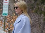 Ivanka Trump looked downcast Friday afternoon as she headed out for the weekend with her kids in tow