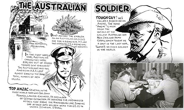 WWII book reveals what US soldiers expected in Australia